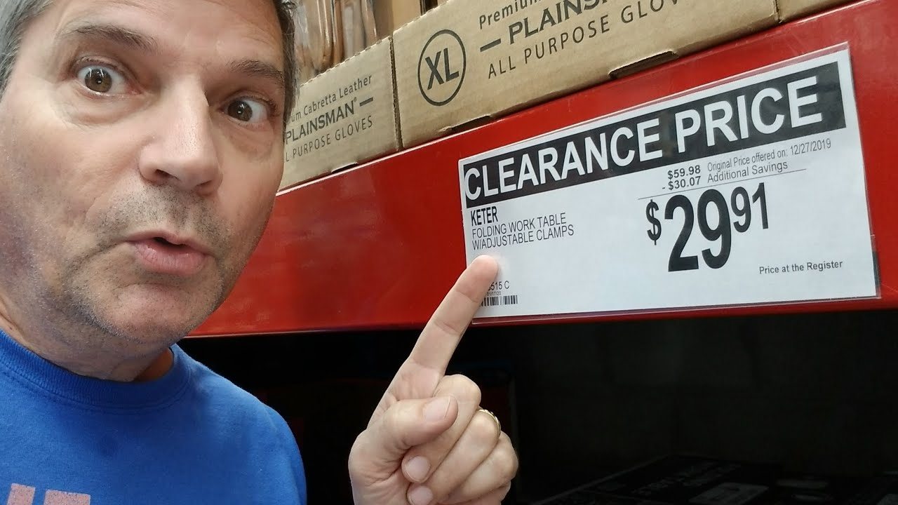 - Sams Club Shop With Me: Keter Work Table $29! TVs, Tools! - YouTube