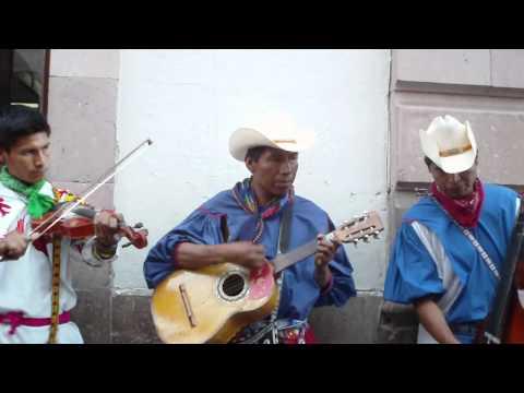 Street musicians in Zacatecas, Mexico