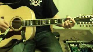 Breathe (w/ Breathe reprise) Pink Floyd cover Guild 12 string acoustic