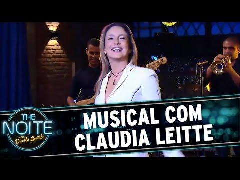 The Noite (18/05/16) - Musical com Claudia Leitte