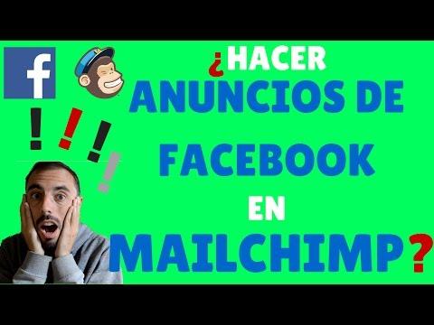 Facebook Ads: ¿Cómo hacer los anuncios en Mailchimp?