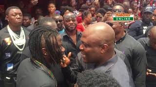 Ibrahim Mahama, Stonebwoy at EBony Reigns Final Funeral rites