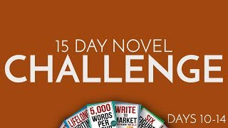 Gambar cover 15 Day Novel Challenge Days 10 to 14