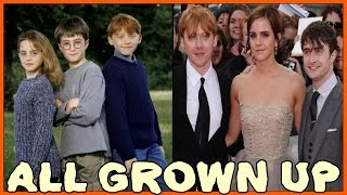 Repeat youtube video Harry Potter Tribute - All Grown Up - Now and Then