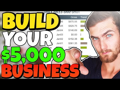 Building A $5,000 Per Month Drop Servicing Business LIVE 🔴 (Service Arbitrage Sales Funnel)