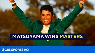 2021 Masters: Hideki Matsuyama makes history with win [Final Round Recap] | CBS Sports HQ