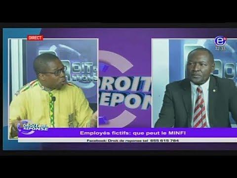 DROIT DE REPONSE (MINFI et Employés fictifs,Menaces de fermeture de l'aéroport de Douala?)22/04/2018