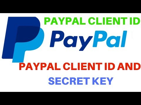 How To Get Client Id And Secret Key From Paypal Account thumbnail