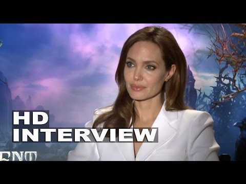 "Maleficent: Angelina Jolie ""Maleficent"" Official Movie Interview"