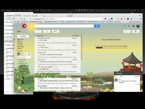 Using Messages On Mac With Google Chat
