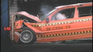 BMW Crash Test Hydrogen Powered Car 2000