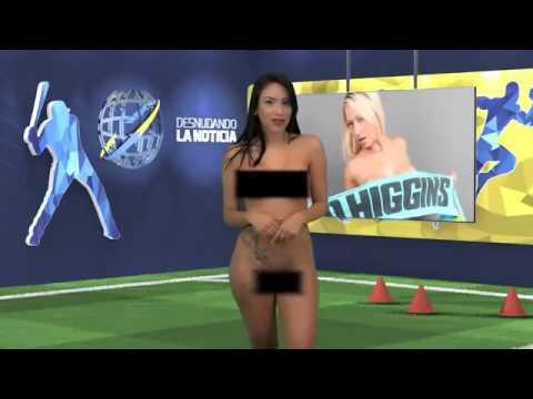 Pembawa Acara Berita Hot!!! Pengupasan Berita Playboy Daniella Chavez naksir Cristiano Ronaldo