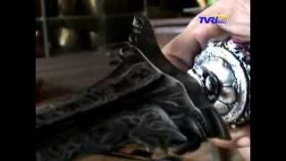 Warta Bali - Pembuatan Keris Di Pande Keris Tapa Karya