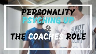 RTS Podcast 77: Personality, Psyching Up, and a Coach's Role with Jim Elli
