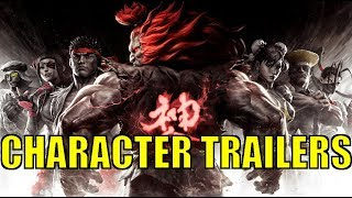 Street Fighter V AE: All Character Trailers | Season 1 - 3 HD
