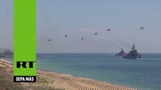 Video de impresionantes maniobras estratégicas en Crimea