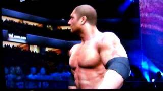 WWE SmackDown vs Raw 2010 (PS3): Batista Custom Heel Entrance (w/Ezekiel Jackson