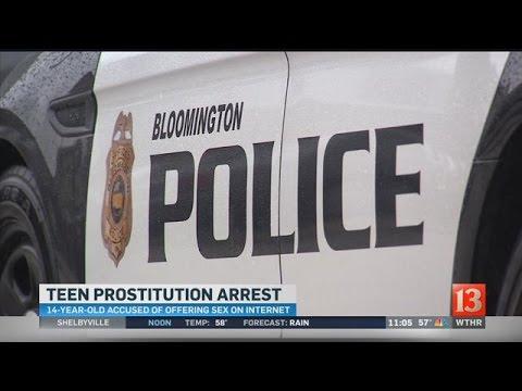 14yearold prostitution arrest