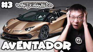 Nyobain Mobil Aa Raffi Ahmad Lamborghini Aventador - Need For Speed Most Wanted Indonesia - Part 3