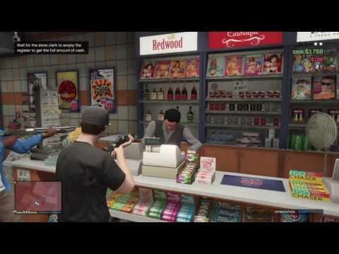 GTA 5 Online | Store Robbery Gameplay