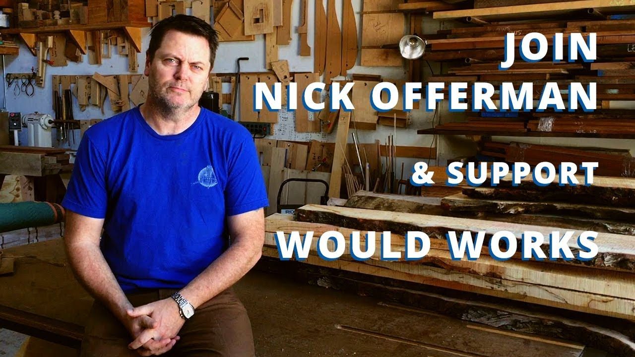 nick offerman on would works charity, ron swanson quotes and