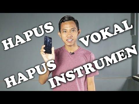 CUMA PAKE HP!! APLIKASI HAPUS VOKAL /  MUSIK  DI MP3 FOR KARAOKE / ACAPELLA ~ SMARTPHONE ANDROID