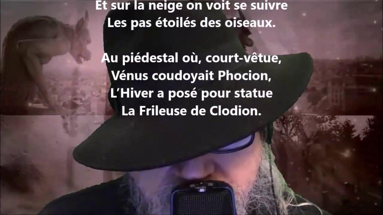 Fantaisies Dhiver Théophile Gautier Lu Par Yvon Jean