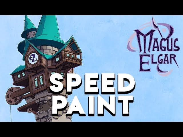 Magus Elgar Cover Speed paint