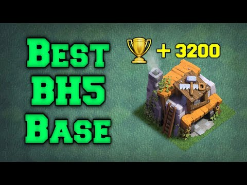BEST BH5 RUSH BASE - MEILLEUR BASE RUSH MDO5 | CLASH OF CLANS