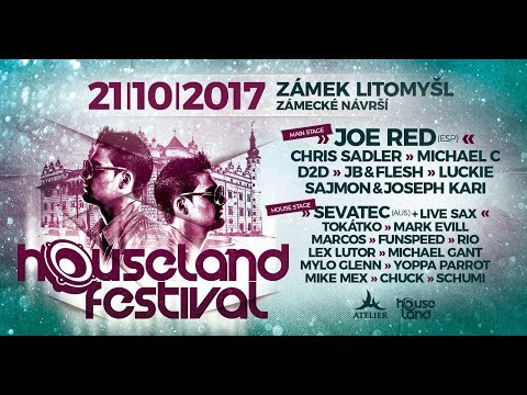 Sajmon & Joseph Kari @ Houseland Festival / Castle Litomysl / 21-10-2017