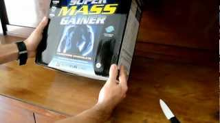 Unboxing Dymatize Super Mass Gainer 5.4kg