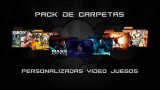 Pack de Iconos para Carpetas Personalizadas