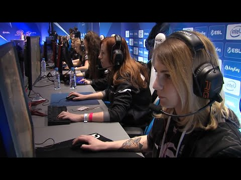 Female Esports Pros Hope To Close The Gender Gap