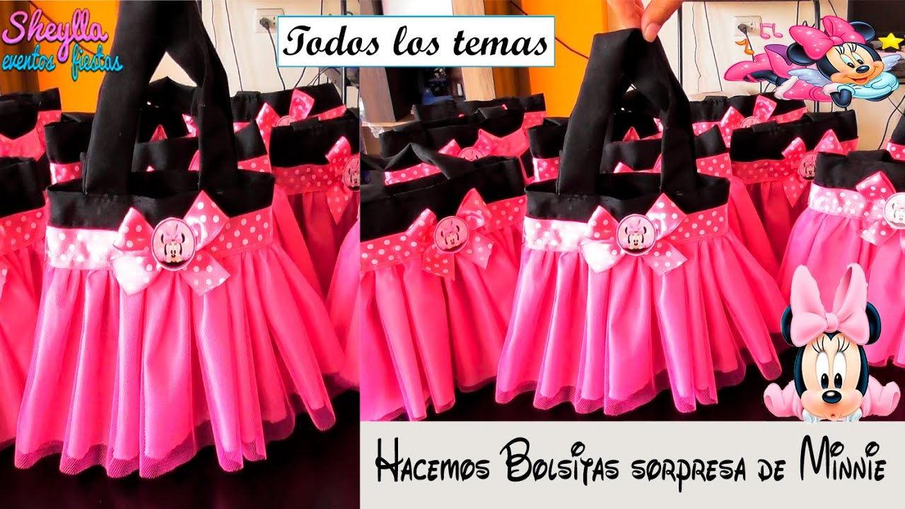 f642de244 Bolsitos de minnie