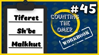 Counting the Omer Workbook: Day 45