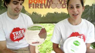 Crowd Interviews at The Big Up 2011 : Sean & Natalie from Dont Move Firewood Dot Org