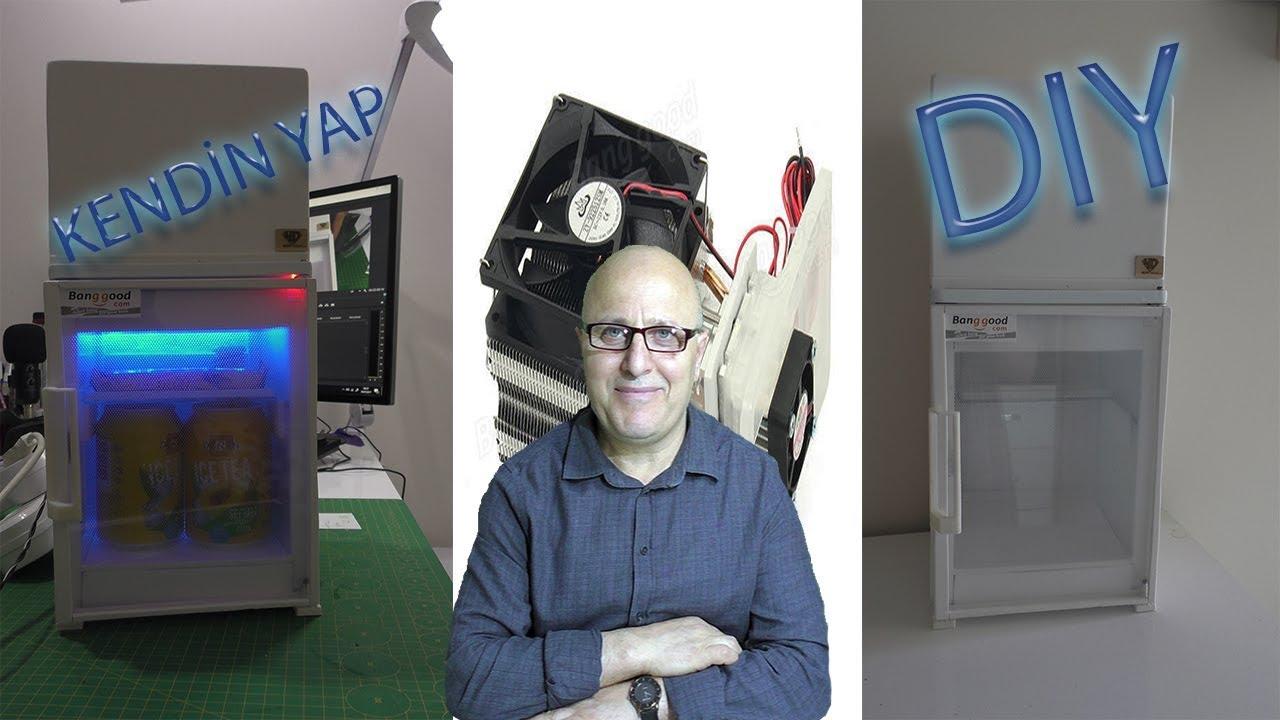 Buzdolabı nasıl yapılır. Termoelektrik Peltier buzdolap 12 volt