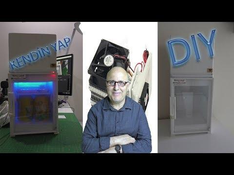 Kendi Mini Buzdolabını Kendin Yap | Mini Refrigator Nasıl Yapılır?
