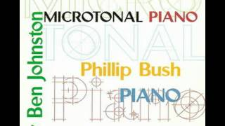 Ben Johnston: Suite for Microtonal Piano - I. Alarum