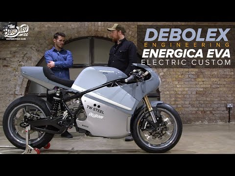 DeBolex and Energica Eva - 145hp custom electric motorcycle