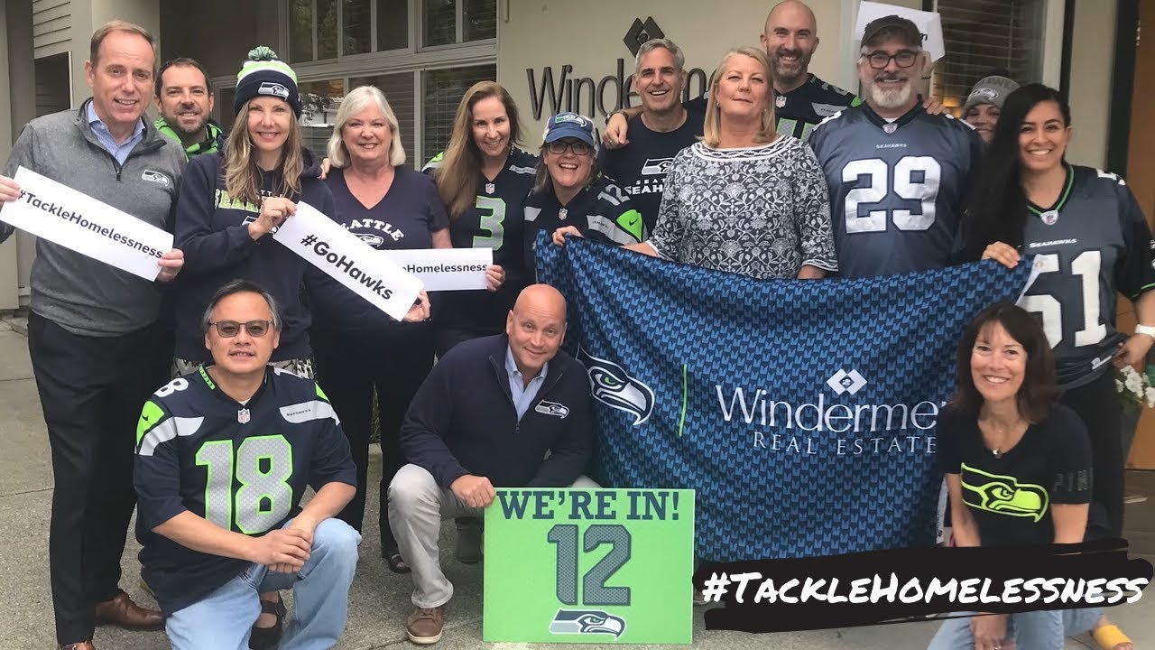 #TackleHomelessness with Seattle Seahawks | Windermere | BrennerHill