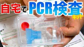 自宅でPCR検査が出来るって知ってる?やってみた結果は・・・