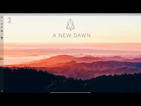 EOS - Intro to Programming/Writing Smartcontracts (dawn-2.x)