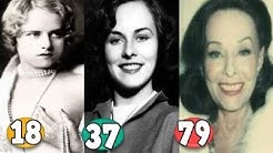 Paulette Goddard ♕ Transformation From 16 To 79 Years OLD