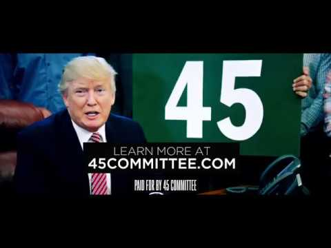 Video highlighting 1 year of President Donald J. Trump by 45Committee.
