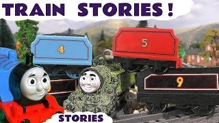 Thomas and Friends fun toy trains games with  Disney Cars McQueen  TT4U