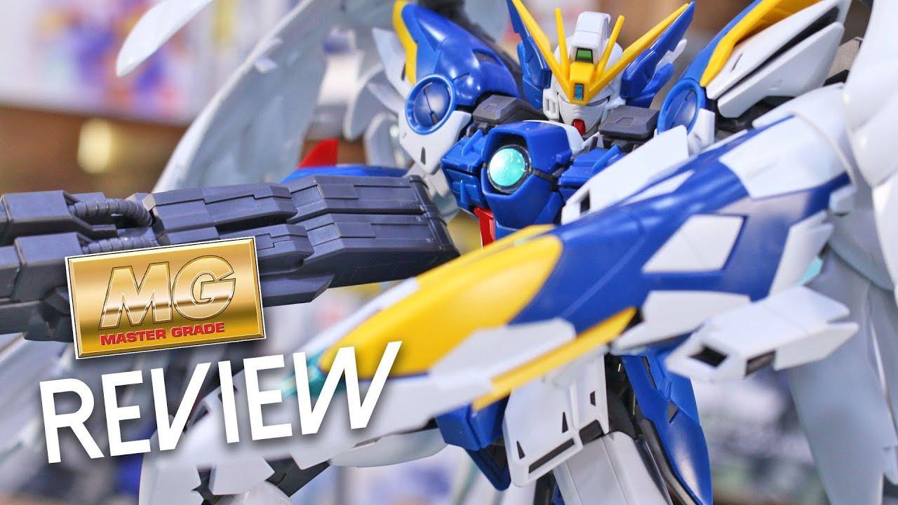 Mg Wing Gundam Zero Ew Ver Ka Review Youtube