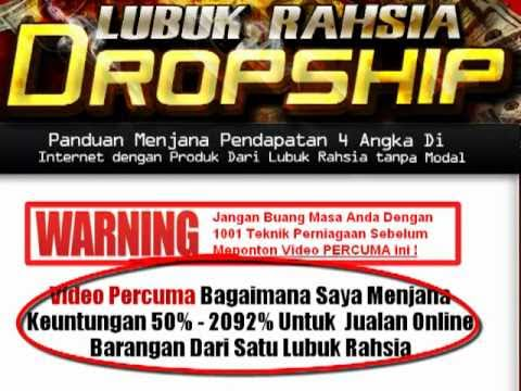 Rahsia Lubuk Dropship - Video Percuma!