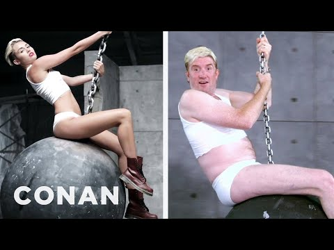 "Miley Cyrus' ""Wrecking Ball"" Ripped Off A Local Ad"