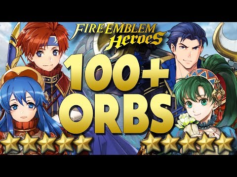 Fire Emblem Heroes | LOVE ABOUNDS BANNER! Valentine's Hector, Lyn, Roy, & Lilina 🔴LIVE Summoning!